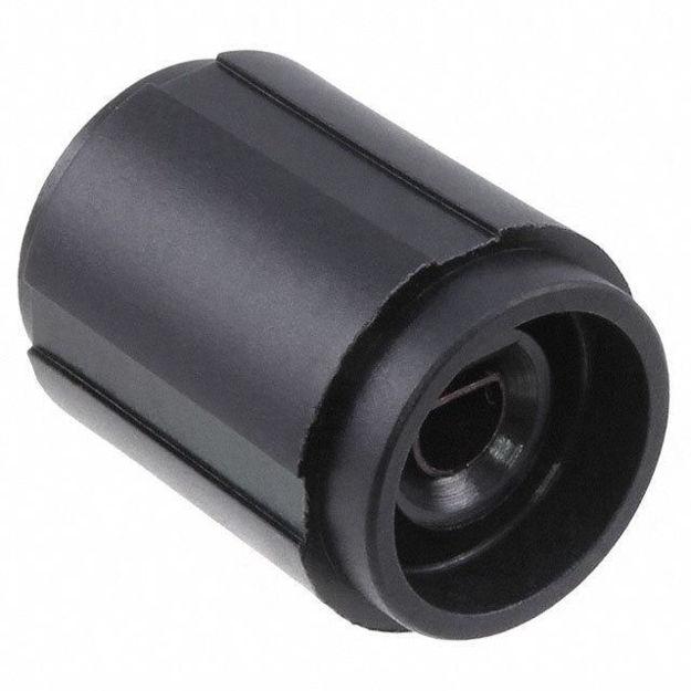 Picture of KNOB PLASTIC .250 DIA BLACK