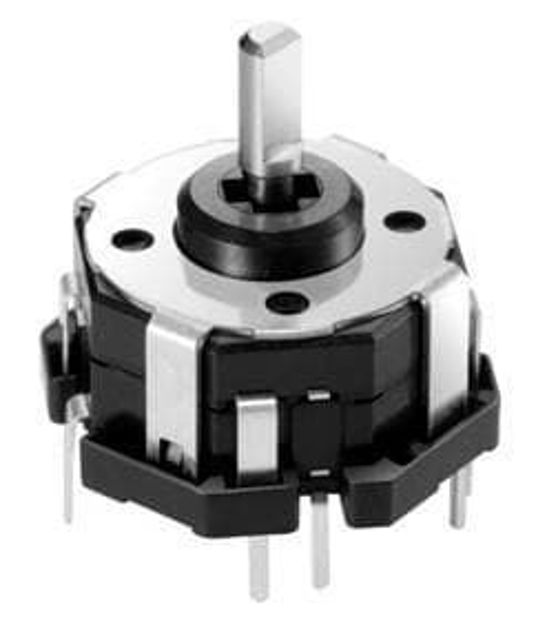 Picture of Electromechanical Switch 4-Directional Stick Switch 0.01A Bulk