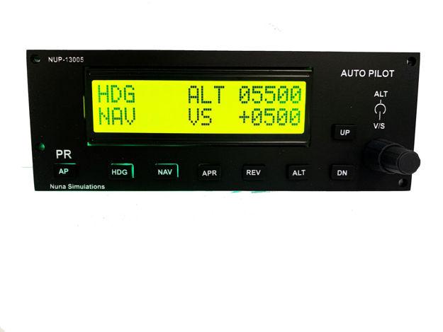 Picture of Nuna Simulations  Autopilot Panel