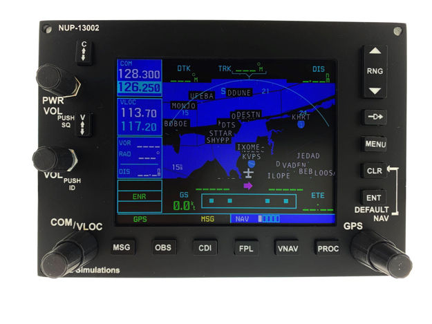 Picture of Nuna Simulations G530 GPS Panel