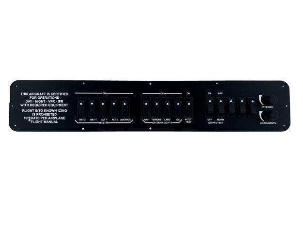 Picture of Nuna Simulations Cirrus SR20/22 Switch Panel