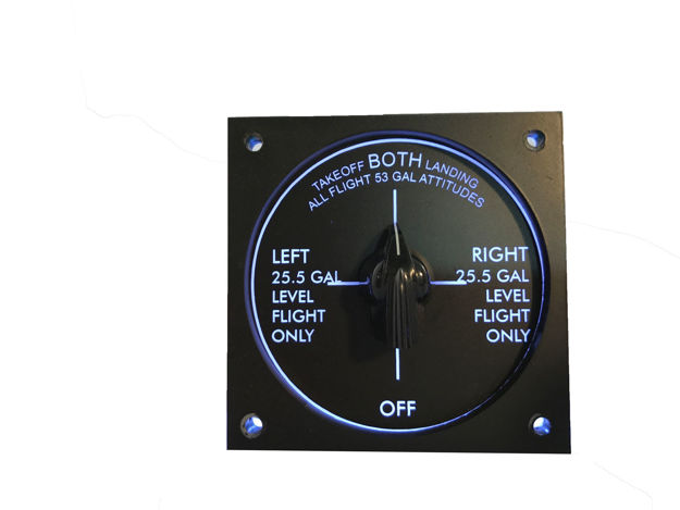 Picture of Single Engine Fuel Selector Panel