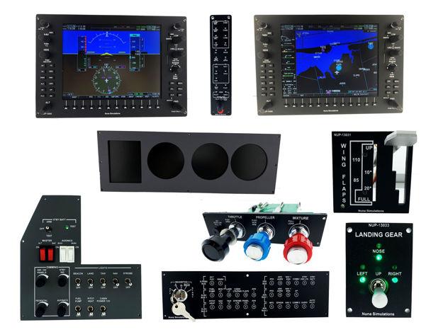 Picture of Nuna Simulations Single Engine G1000 Complete Set